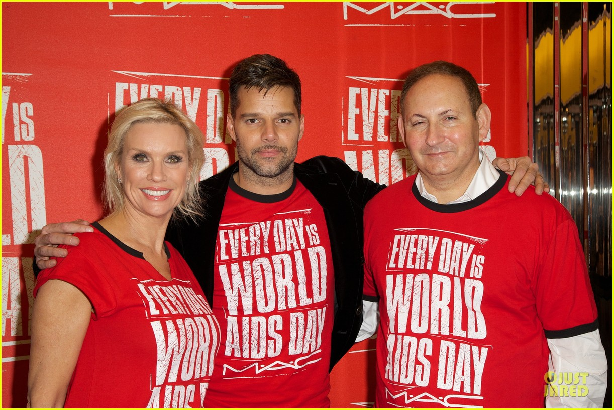 ricky martin world aids day event 17