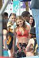 annalynne mccord bikini 90210 filming 12