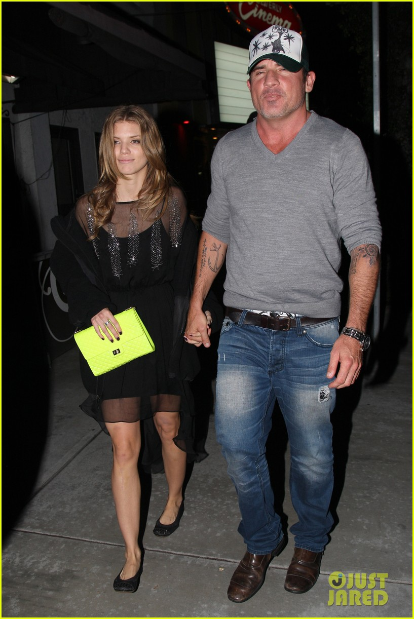 annalynne mccord dominic purcell movie night 082769141