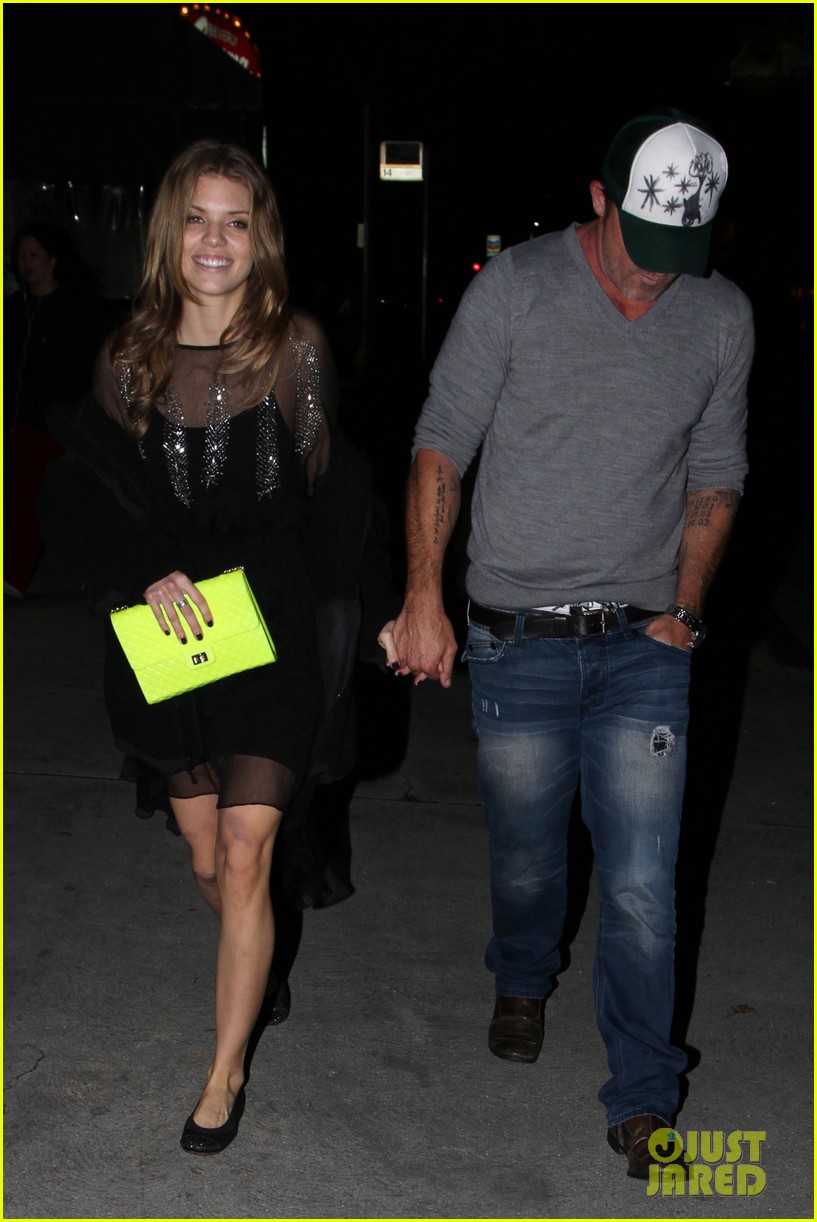 annalynne mccord dominic purcell movie night 12