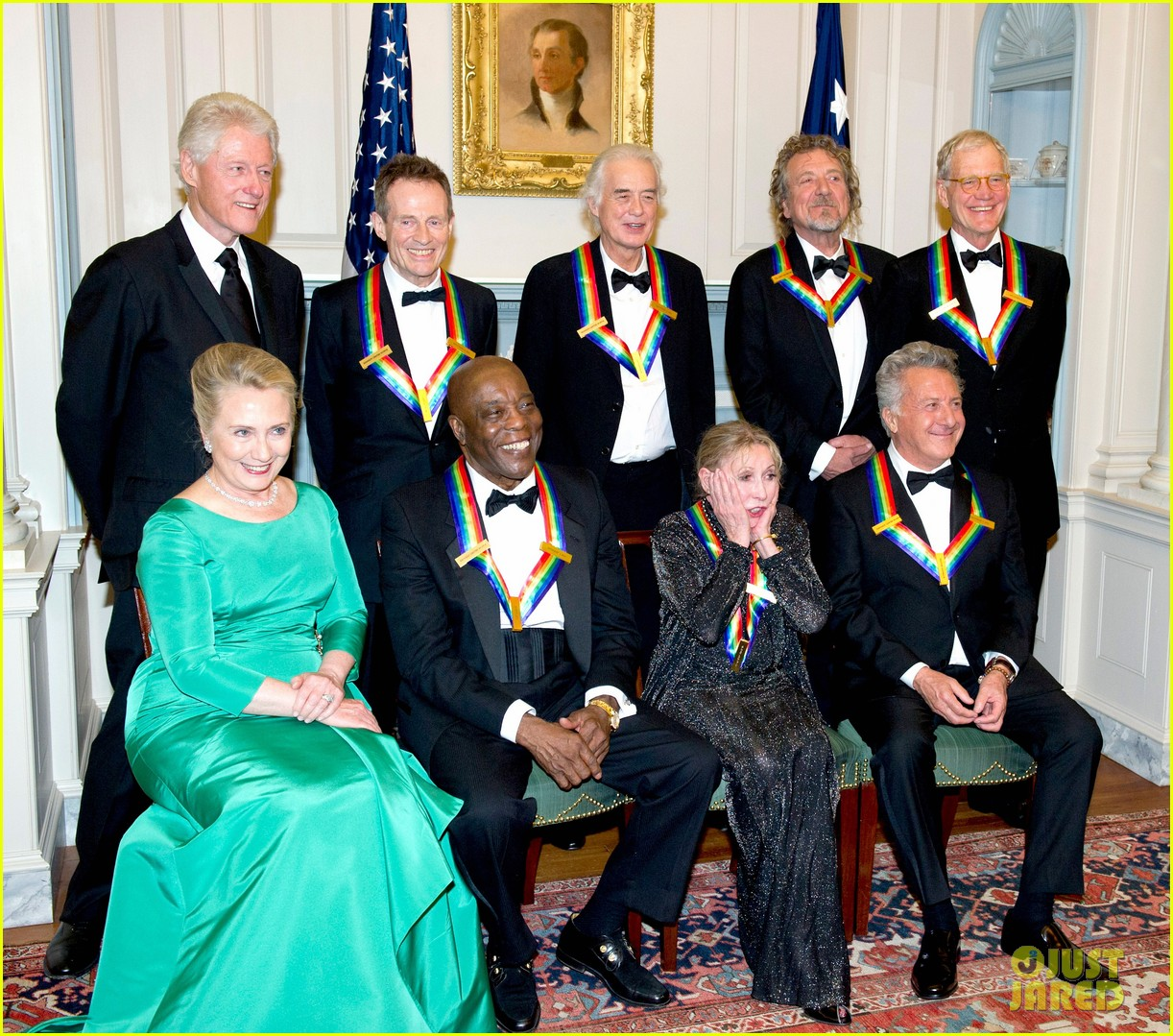 meryl streep hillary clinton say cheese for kennedy center honors 022767844