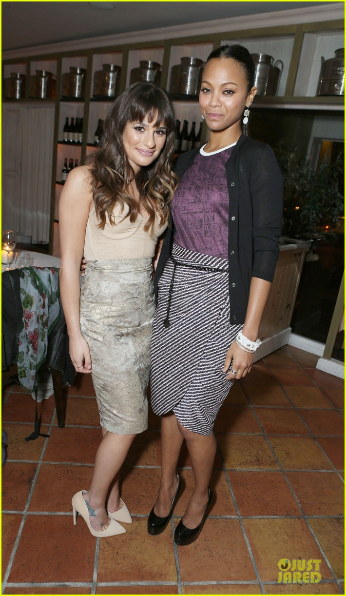 lea michele olivia munn marie claire hollywood dinner 01