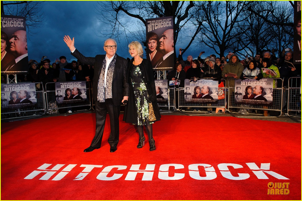 helen mirren & anthony hopkins hitchcock london premiere 072772566