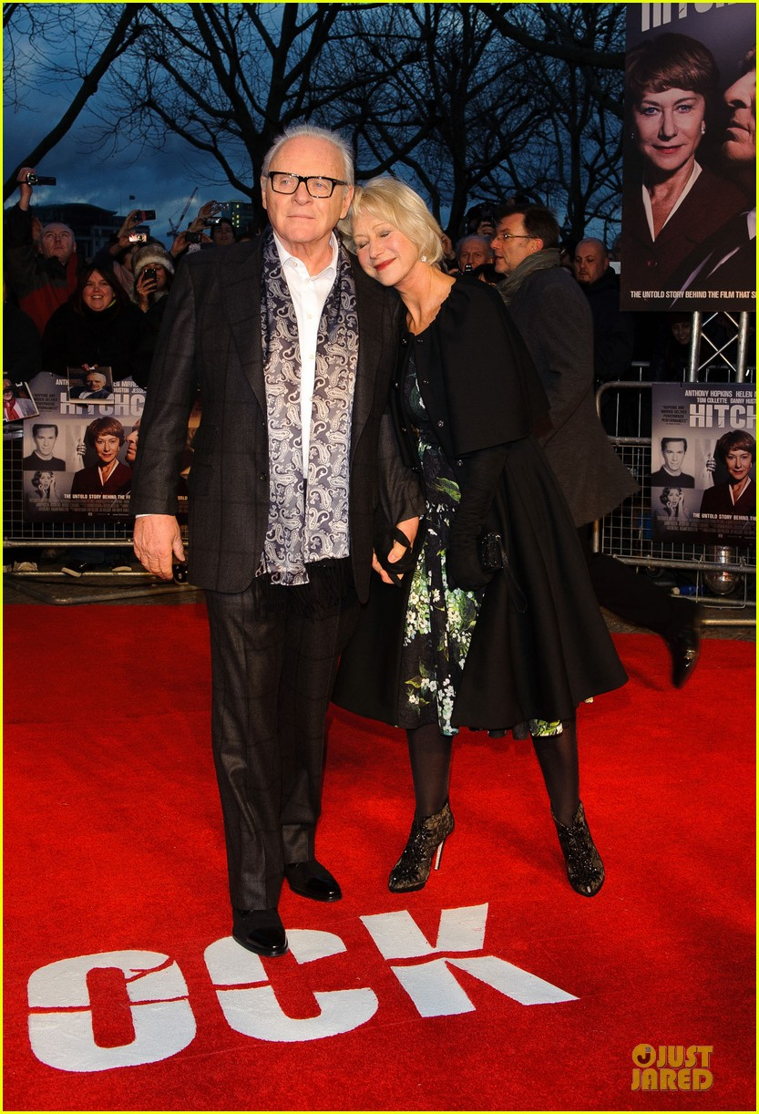 helen mirren & anthony hopkins hitchcock london premiere 14