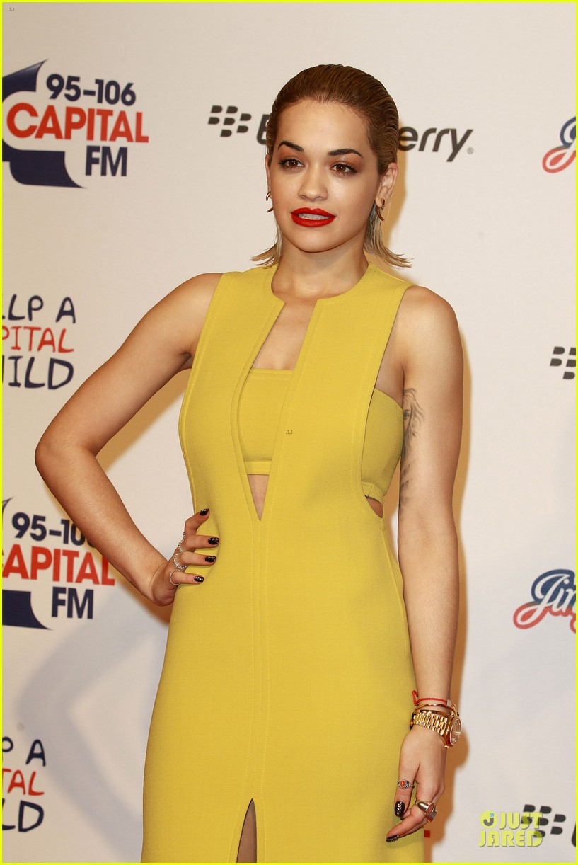 rita ora & the wanted jingle bell ball 16