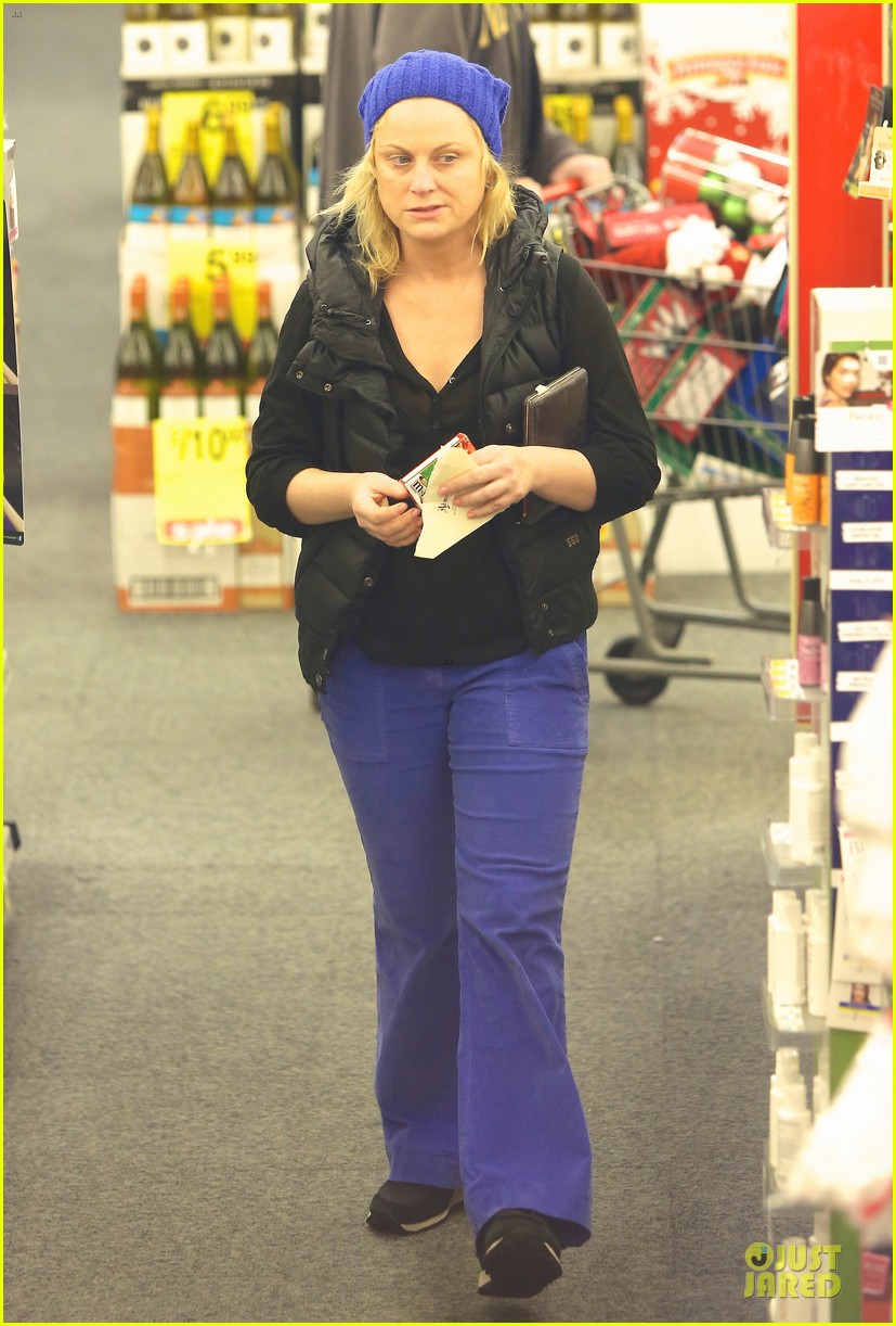 amy poehler holiday shopping with archie 192767158