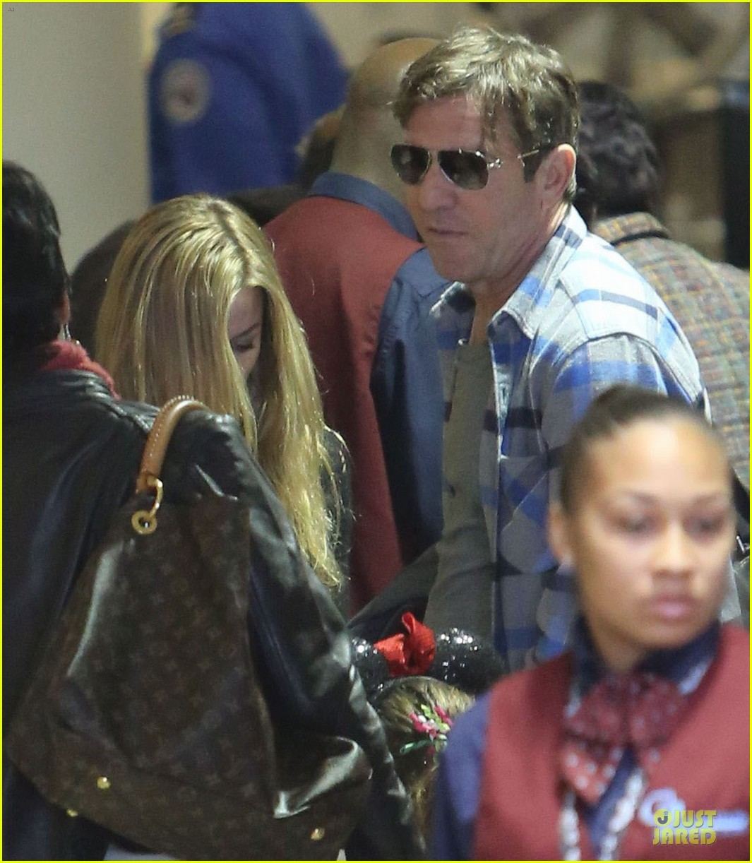 dennis quaid lax departure with a mystery woman 06