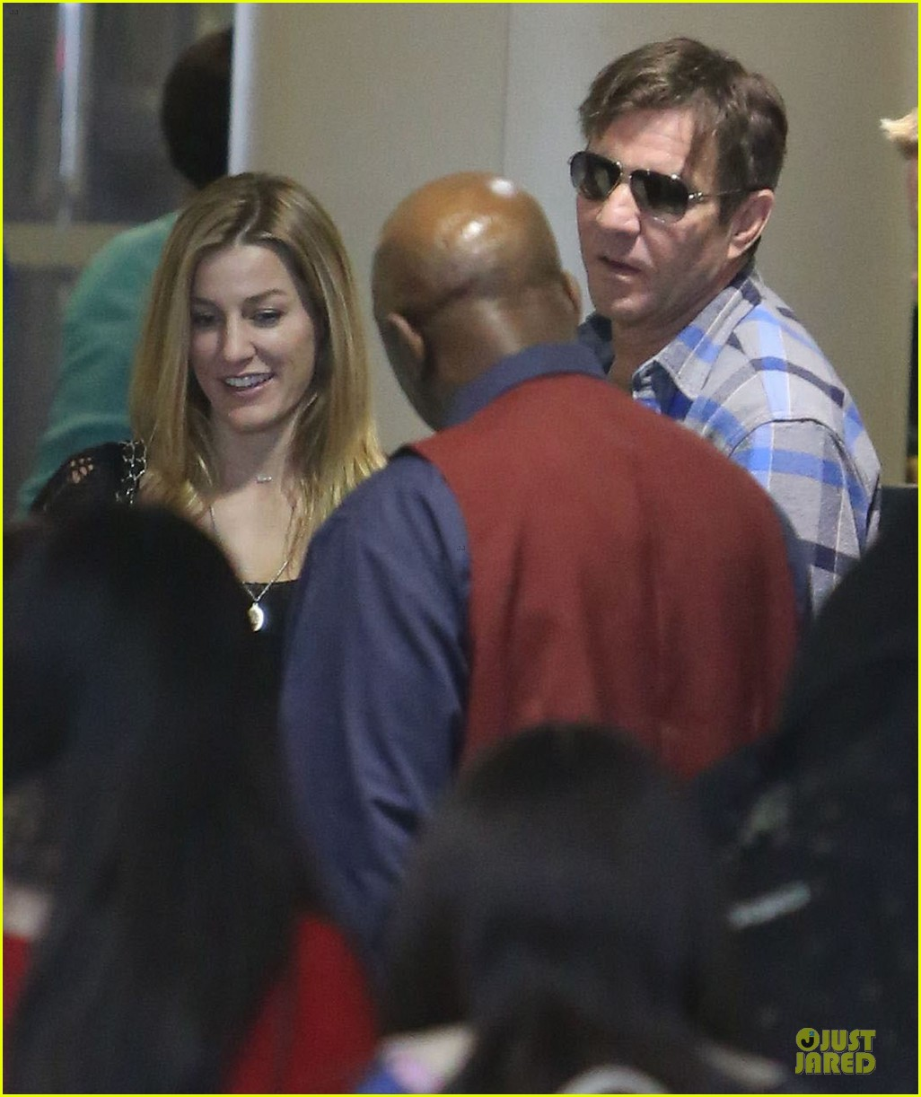 dennis quaid lax departure with a mystery woman 21