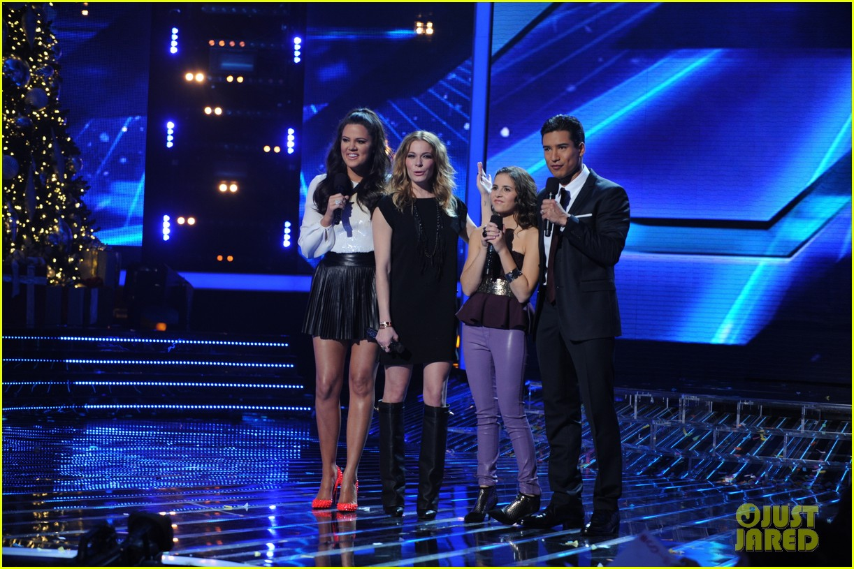 leann rimes carly rose sonenclar x factor finale performance 022778491