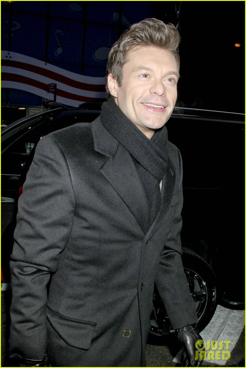 ryan seacrest talks new years eve without dick clark on gma 082781763