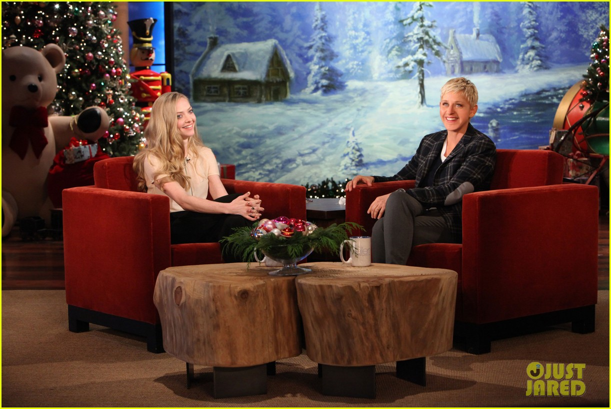 amanda seyfried charity water birthday project ellen 02