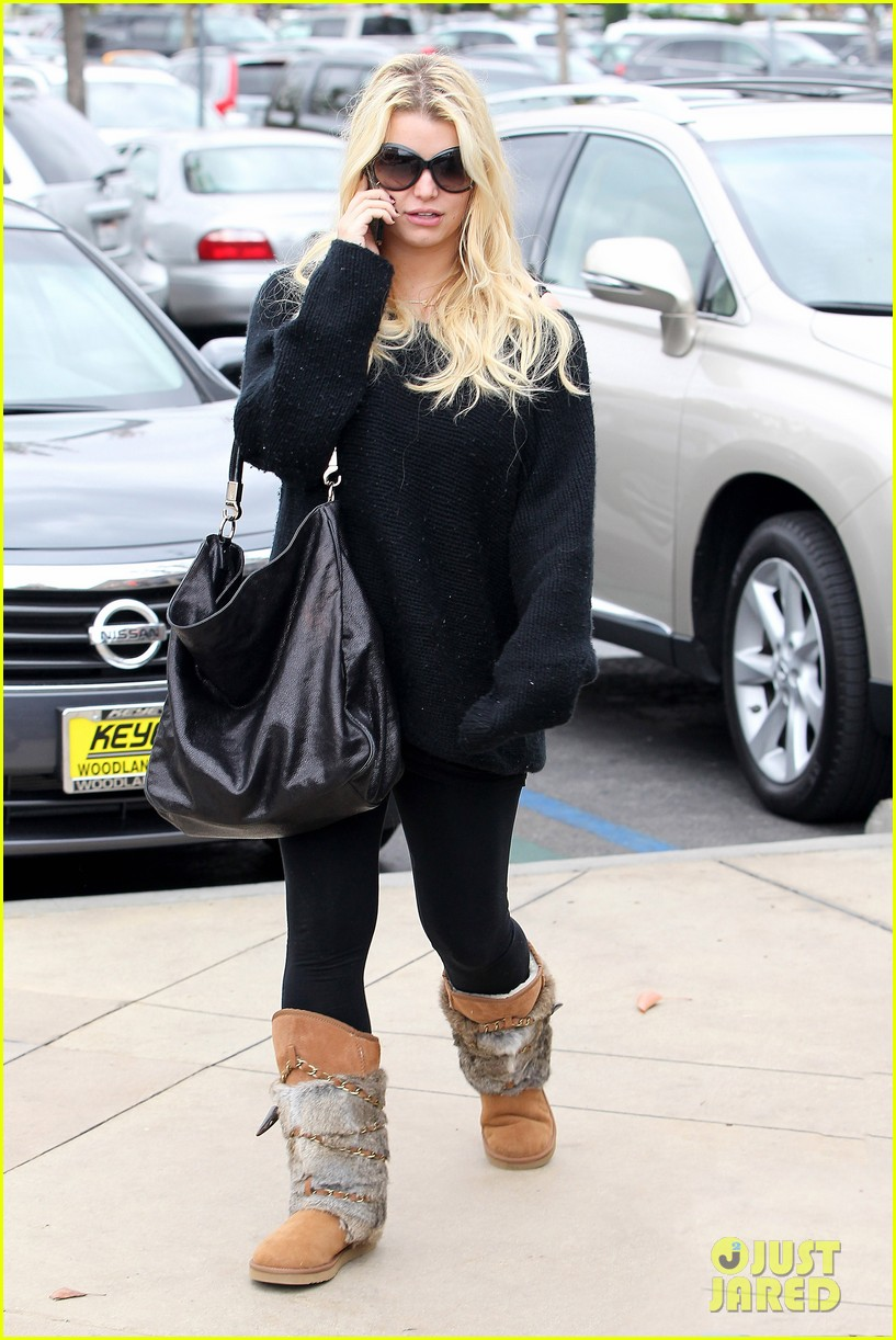 jessica simpson eric johnson kings fish house lunch 012774634