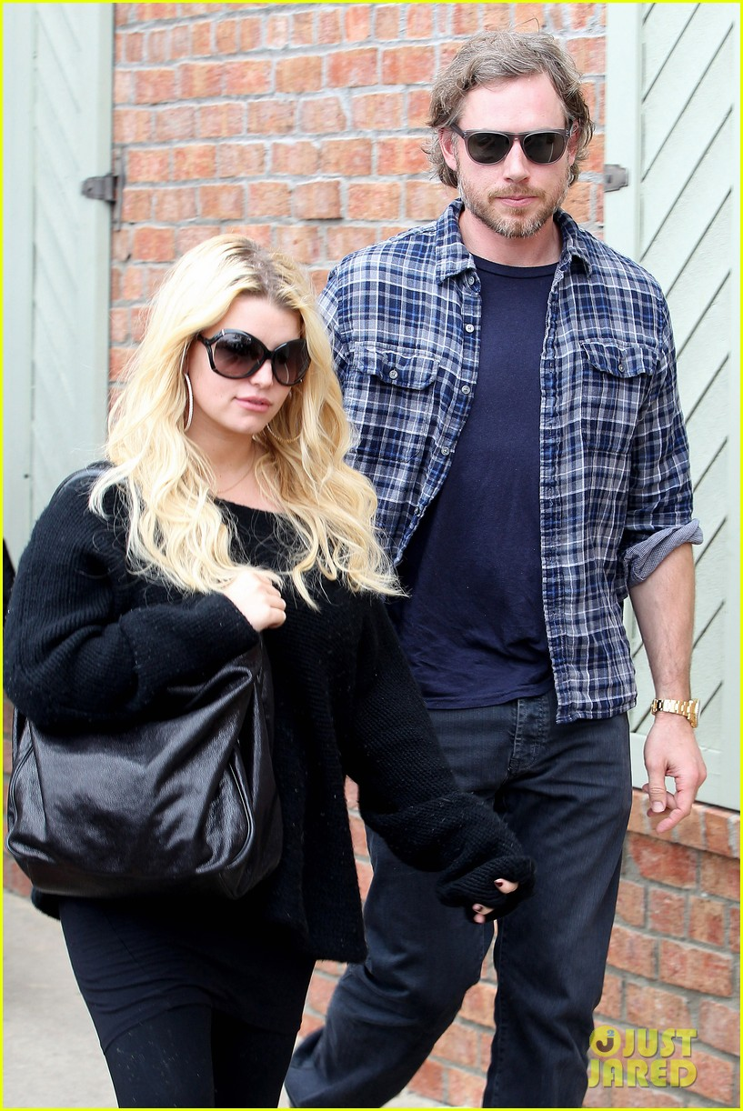 jessica simpson eric johnson kings fish house lunch 04