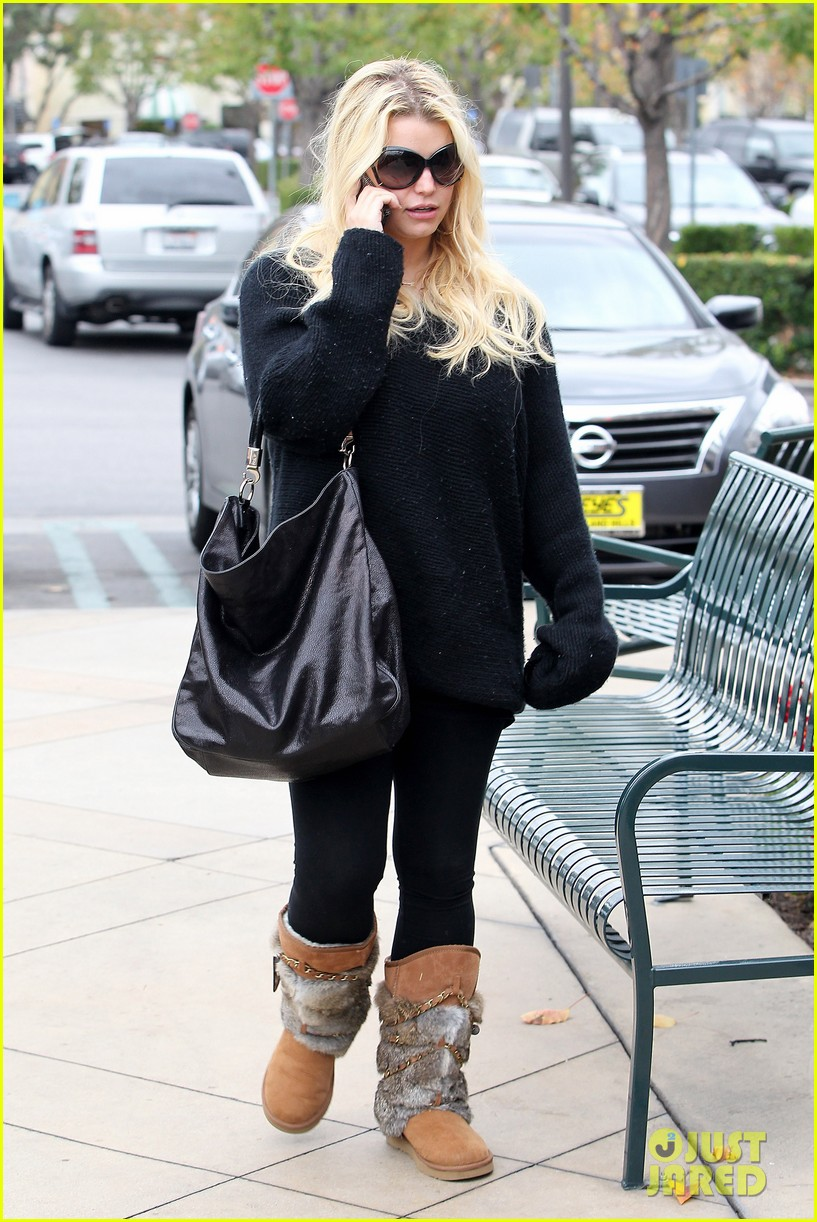 jessica simpson eric johnson kings fish house lunch 08