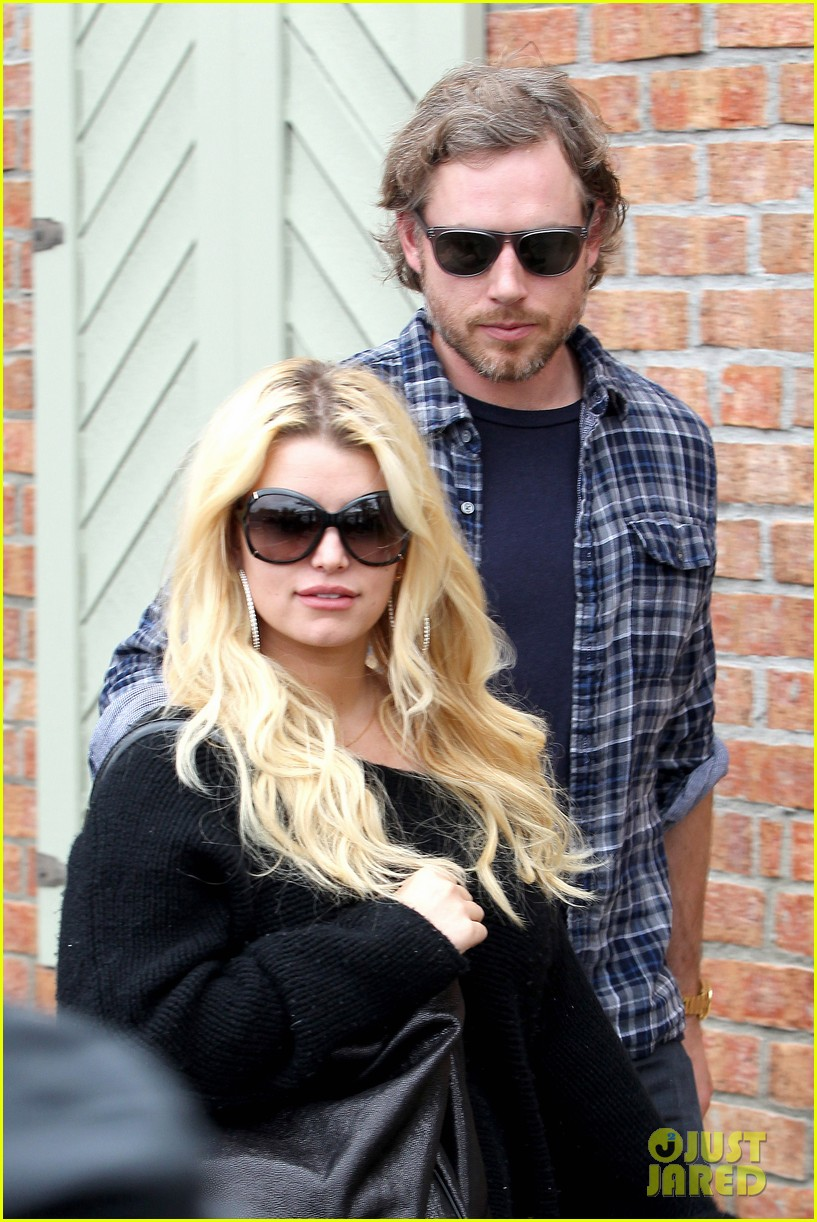 jessica simpson eric johnson kings fish house lunch 16
