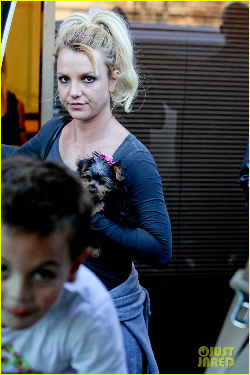 britney spears jason trawick music academy with the boys 20
