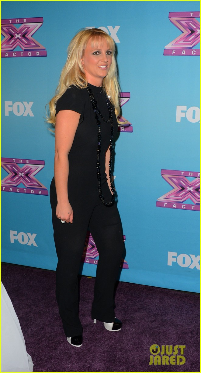 britney spears carly rose sonenclar x factor finale party 12