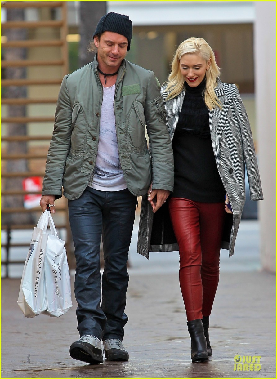 gwen stefani & gavin rossdale holiday shopping couple 072778198