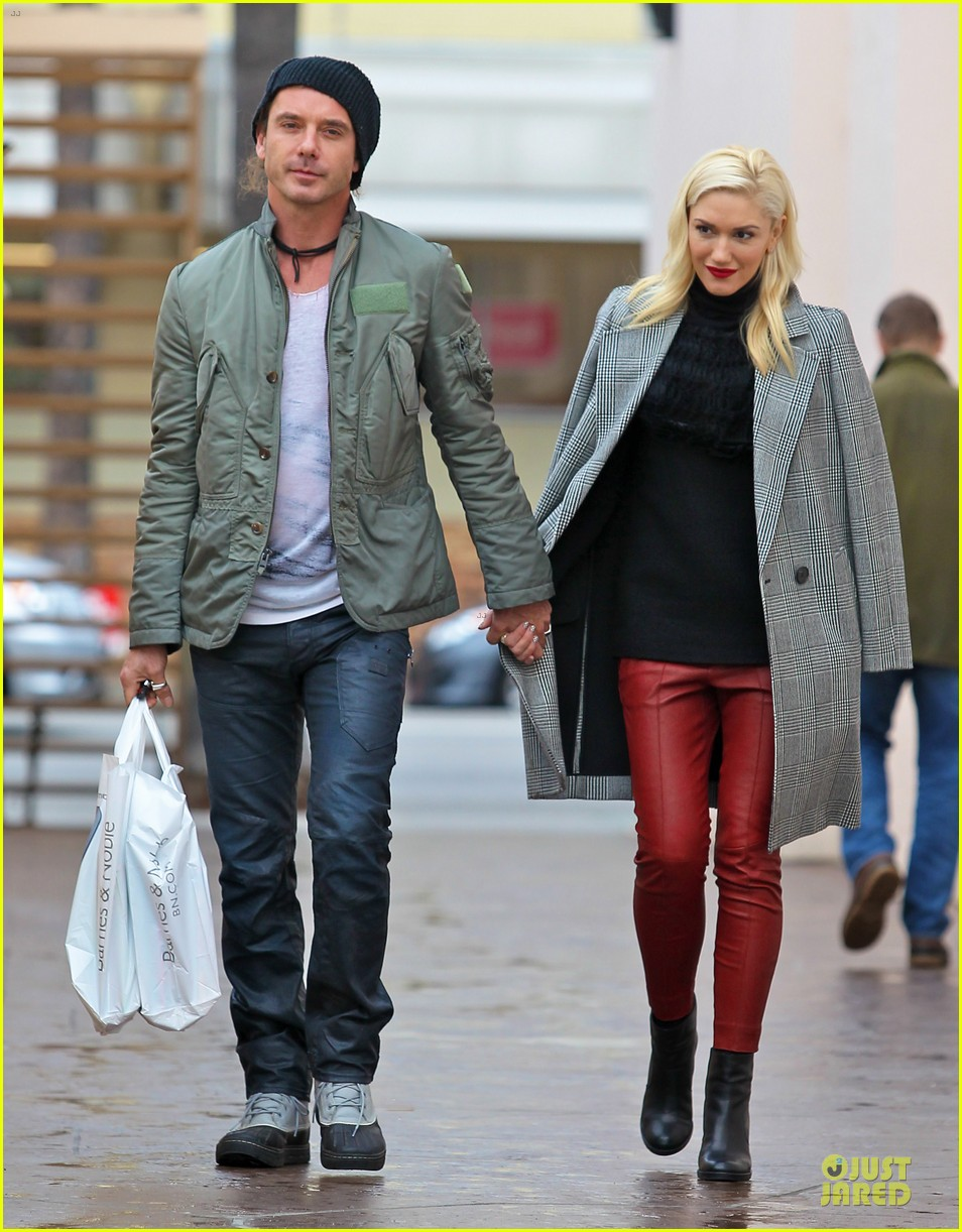 gwen stefani & gavin rossdale holiday shopping couple 112778202