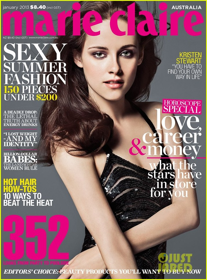 kristen stewart covers marie claire australia january 2013 01