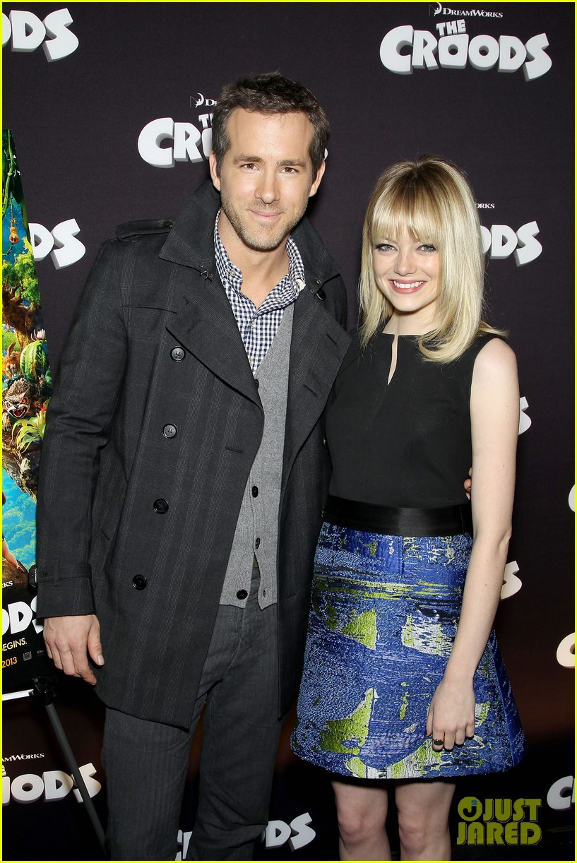 emma stone ryan reynolds fox film slate presentation 032770698