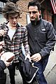 taylor swift& harry styles leave same hotel separately 07