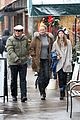 uma thurman arpad busson snow aspen stroll with maya 15