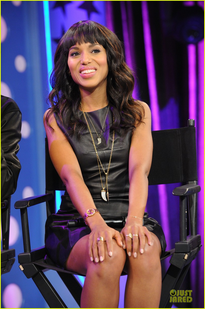 kerry washington & jamie foxx 106 & park appearance 142776288