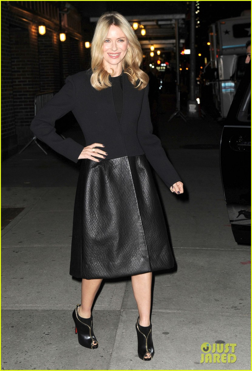 naomi watts late show with david letterman appearance 01