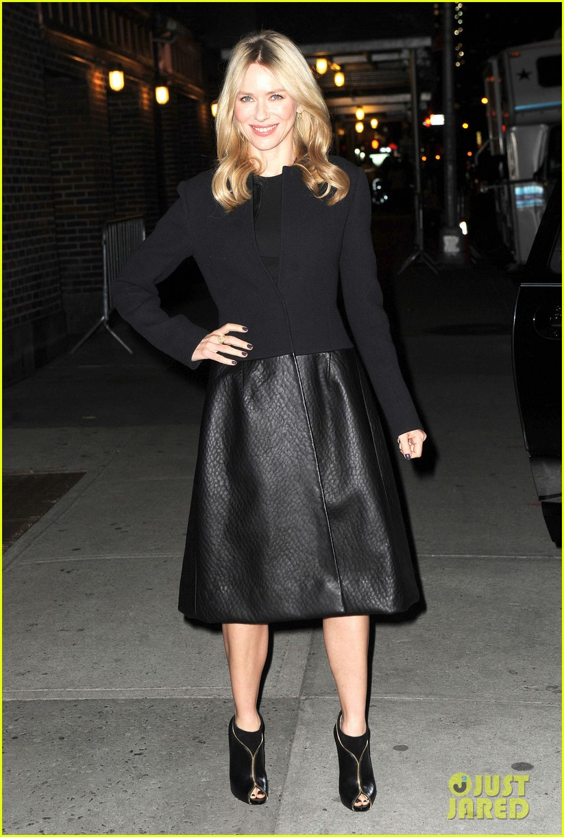 naomi watts late show with david letterman appearance 16