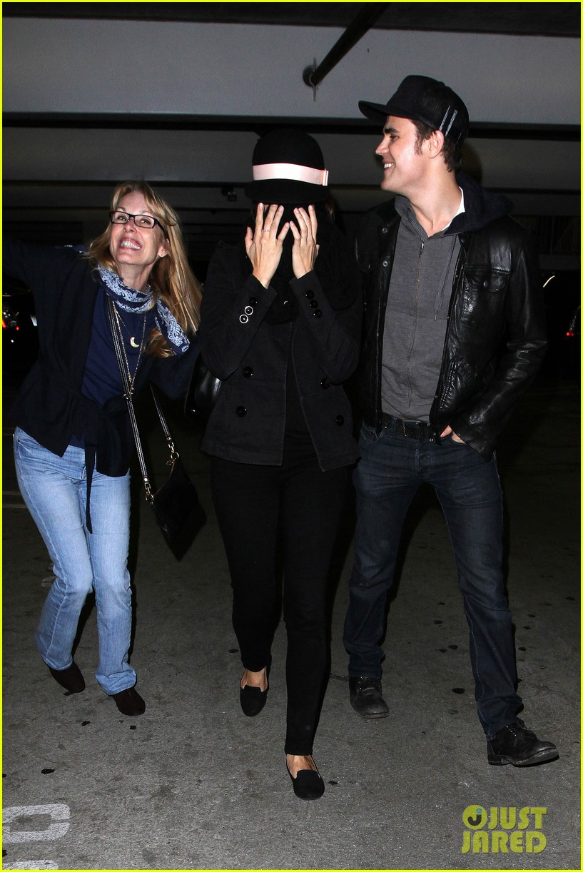 paul wesley torrey devitto les miserables date night 08