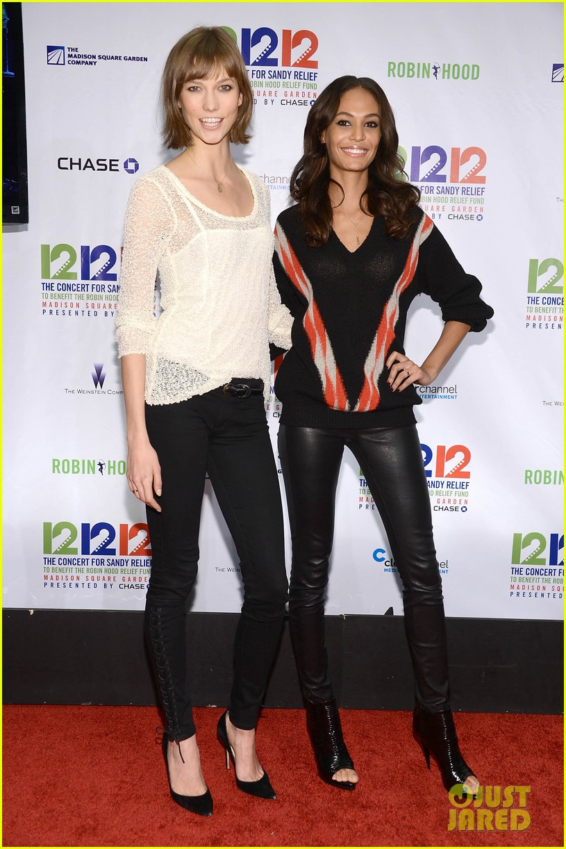 olivia wilde karlie kloss 12 12 12 concert in new york 152775028