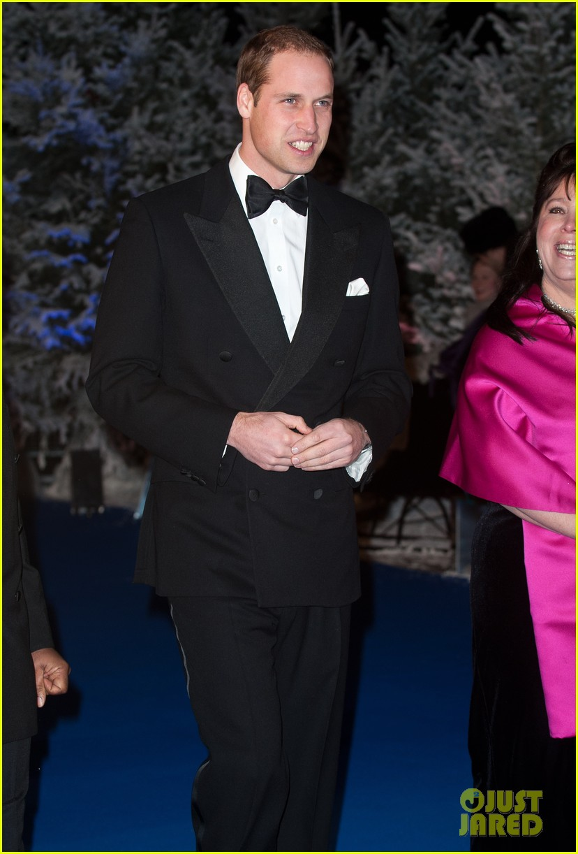 prince william winter whites gala without pregnant kate middleton 012771899