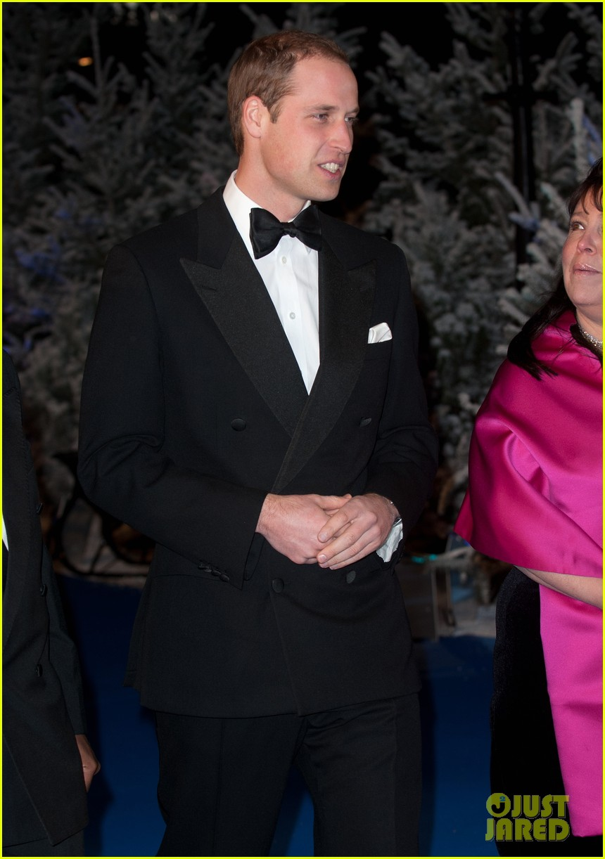 prince william winter whites gala without pregnant kate middleton 162771914