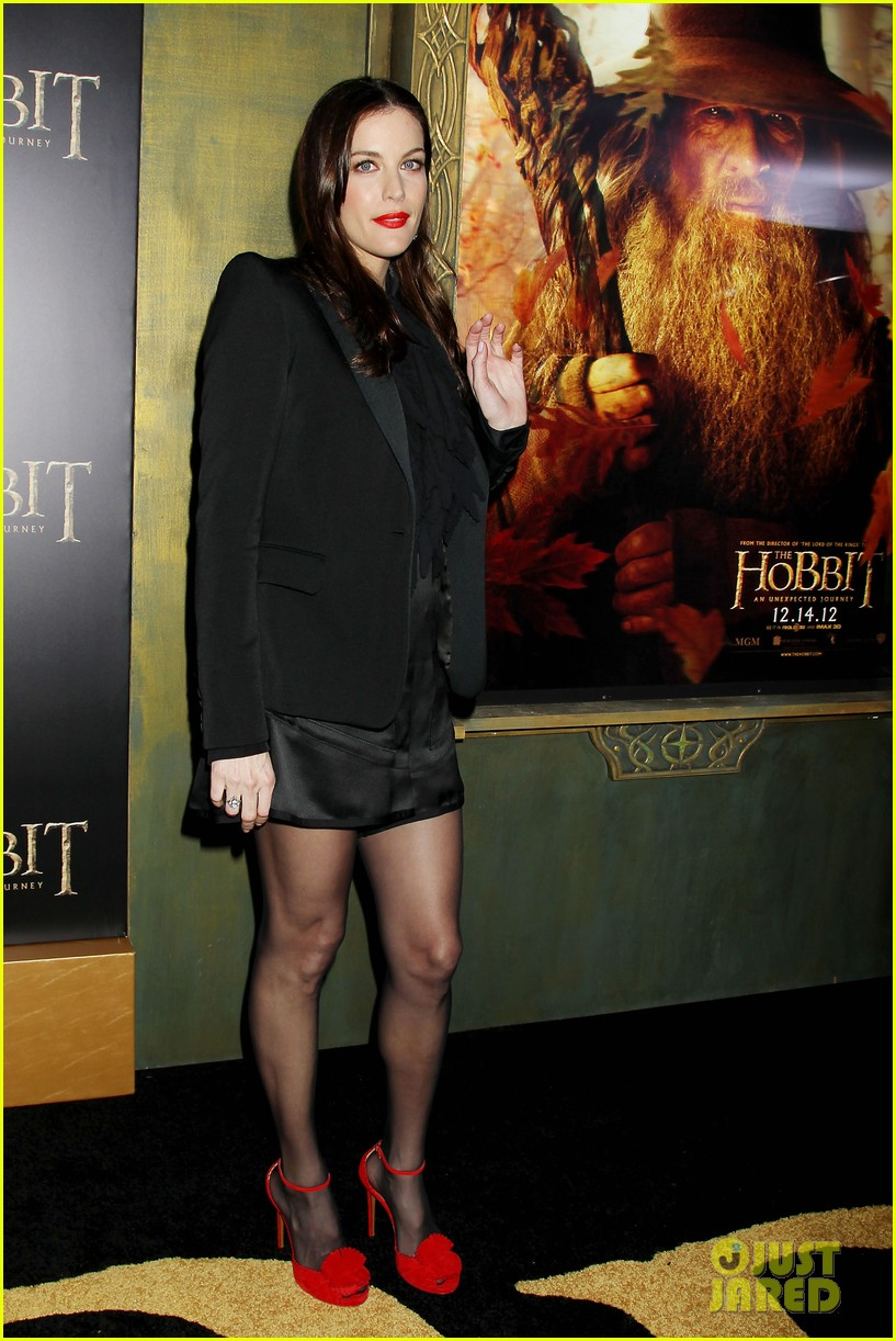 elijah wood liv tyler the hobbit new york premiere 252770763