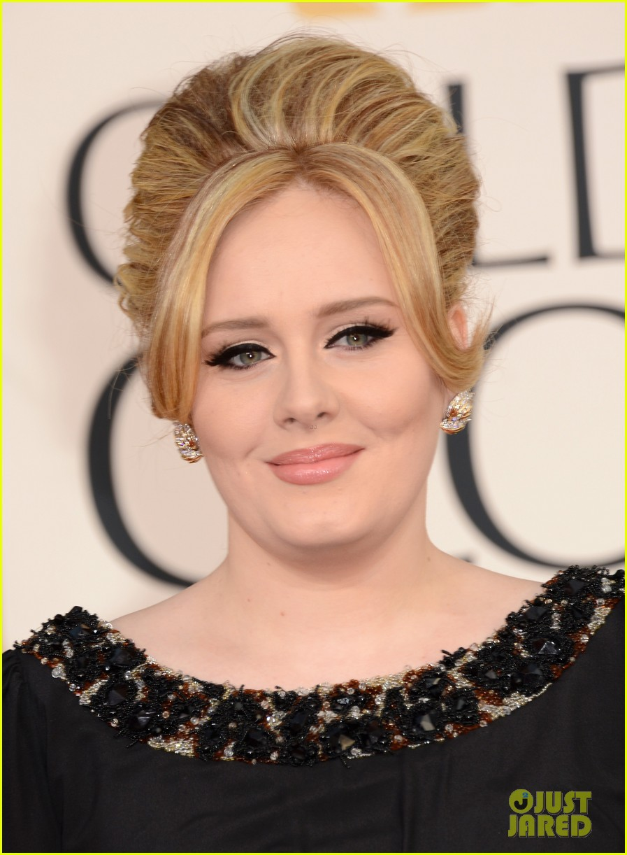 adele golden globes 2013 red carpet 04