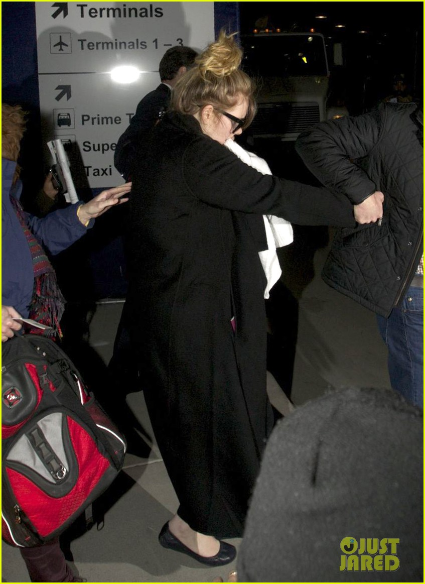 adele baby land in los angeles for golden globes 102788769