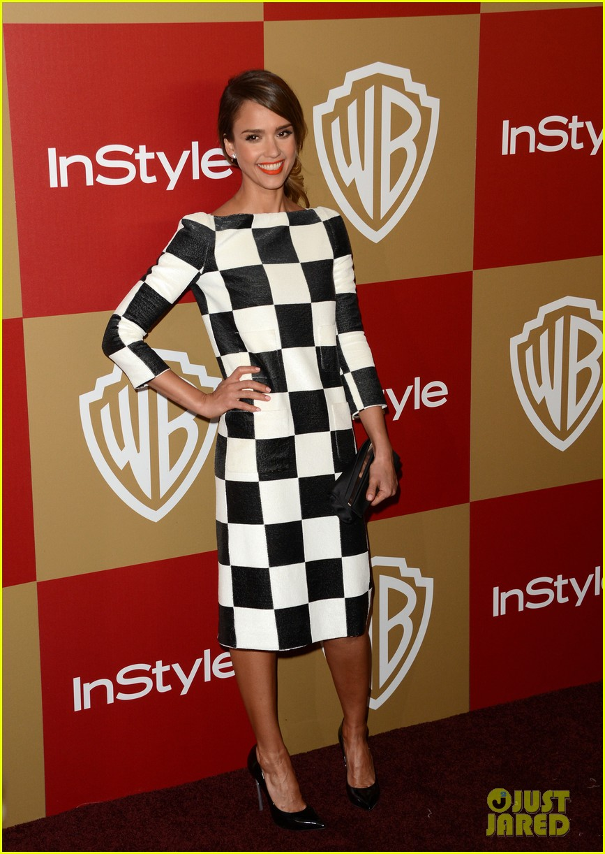jessica alba sophia bush instyle golden globes party 07