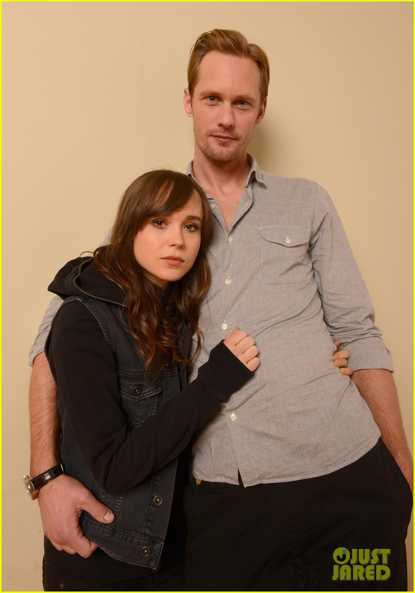 alexander skarsgard ellen page the east portraits 09