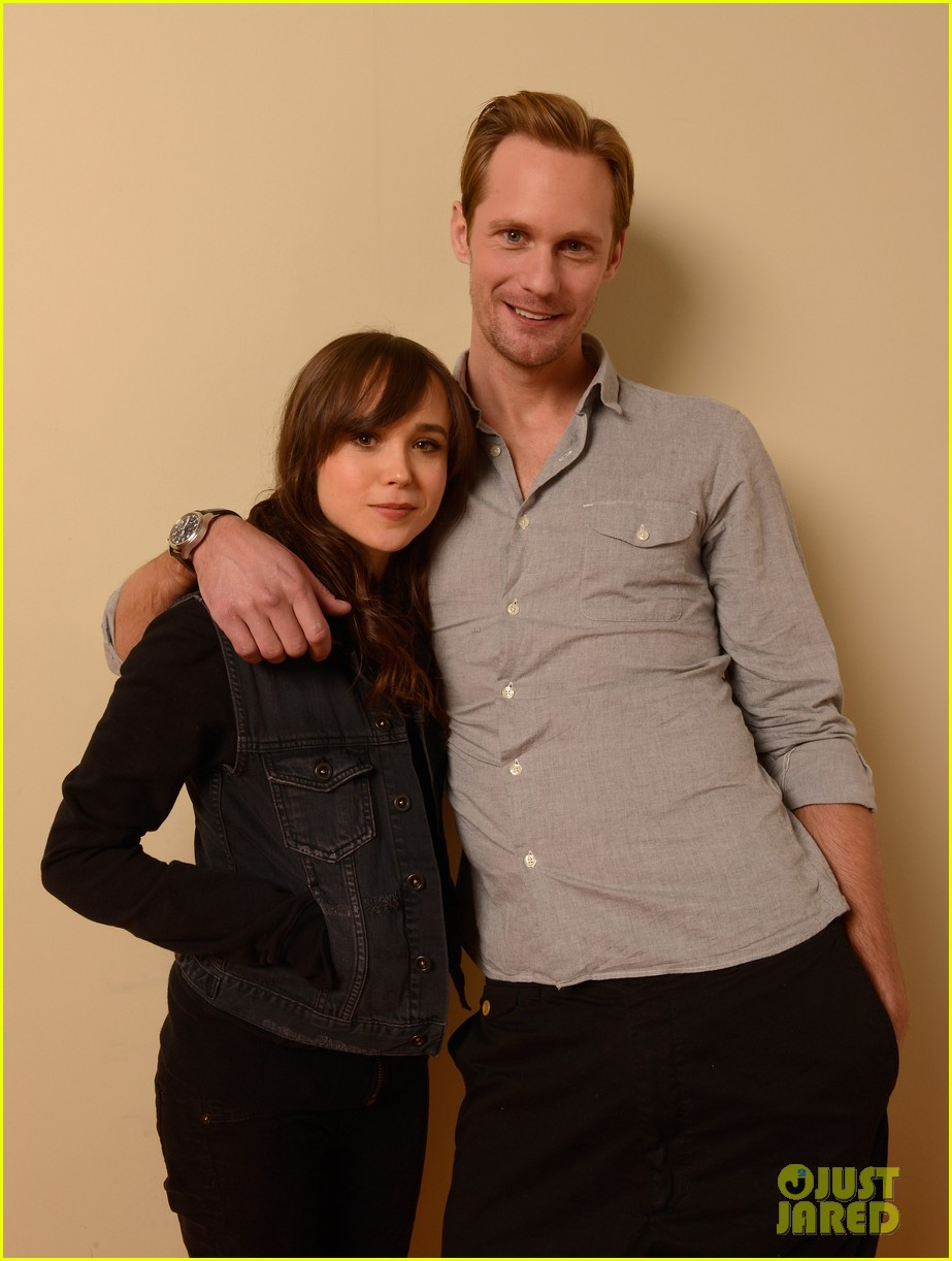 alexander skarsgard ellen page the east portraits 21