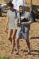 shirtless dave annable maui vacation with bikini clad wife odette 04