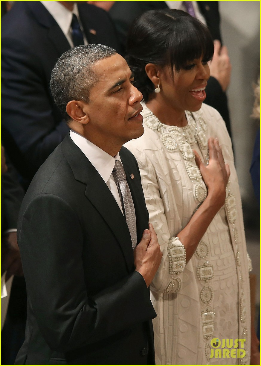 barack michelle obama national prayer service after inauguration 02