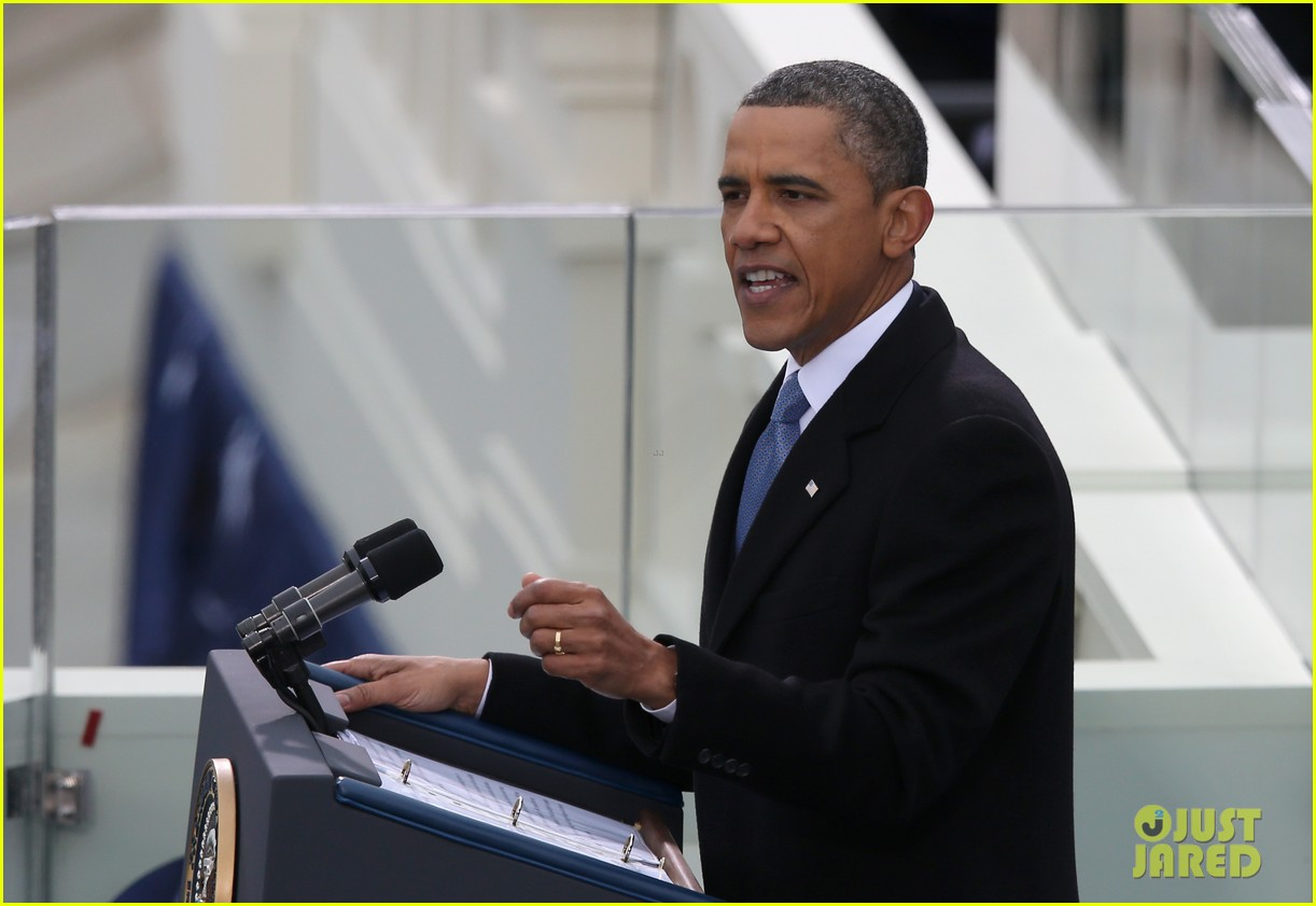 watch president obama being sworn in at second inauguration 02