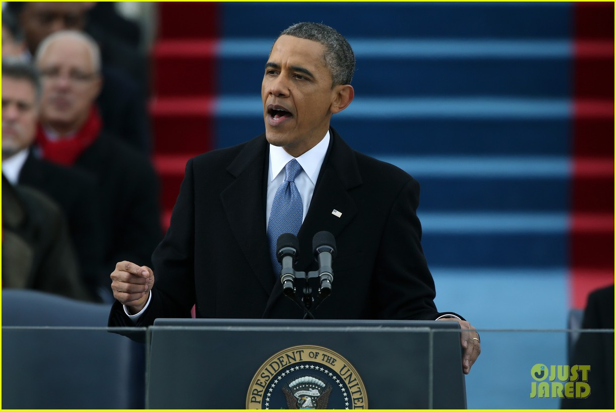 watch president obama being sworn in at second inauguration 05