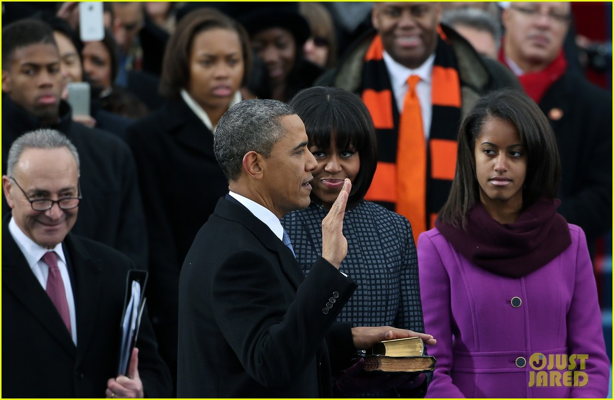 watch president obama being sworn in at second inauguration 11