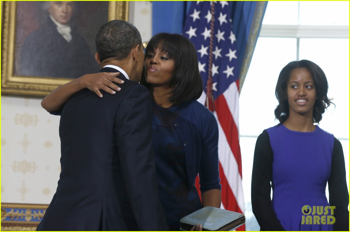 president barack obama sworn into office launches second term 18