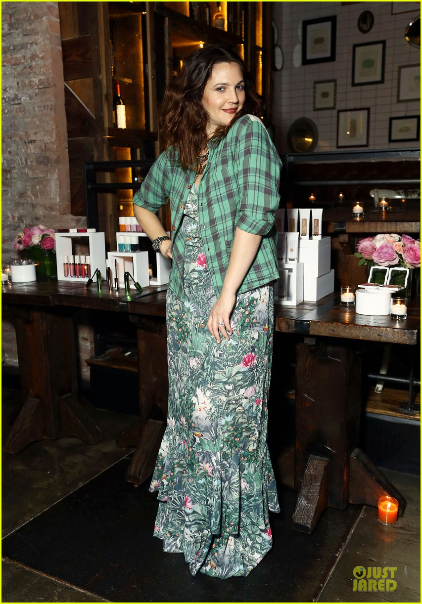 drew barrymore will kopelman flower launch party 11