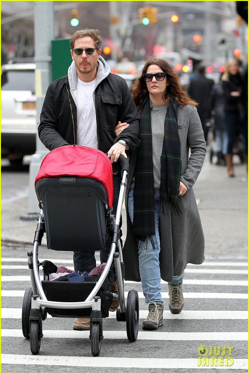 drew barrymore will kopelman saturday shopping with olive 07