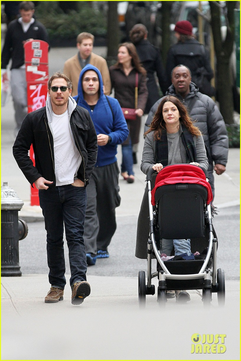drew barrymore will kopelman saturday shopping with olive 08