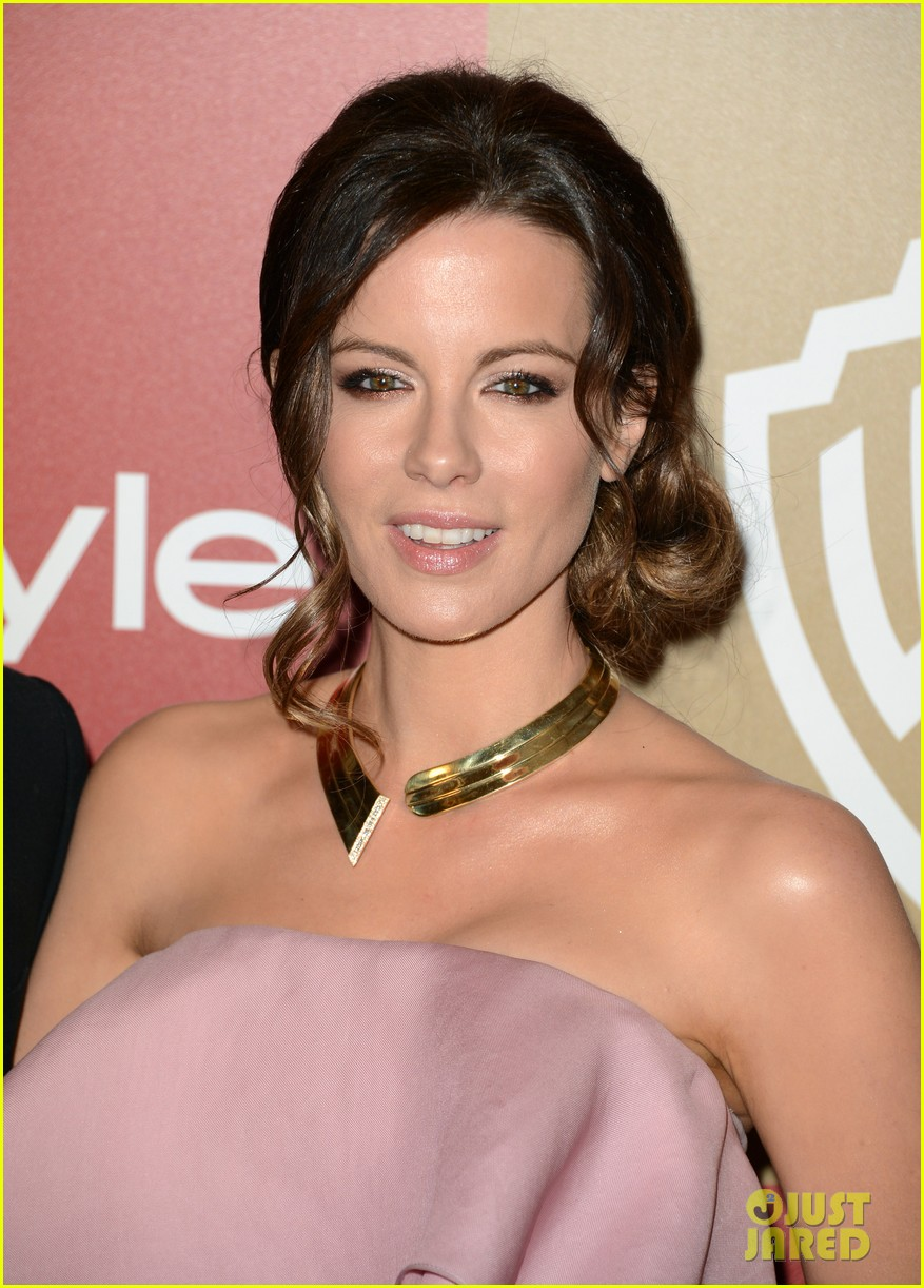 kate beckinsale instyle golden globes party 2013 13